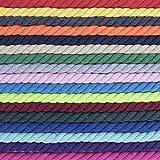 Premium Super Soft Colored Twisted Cotton Rope