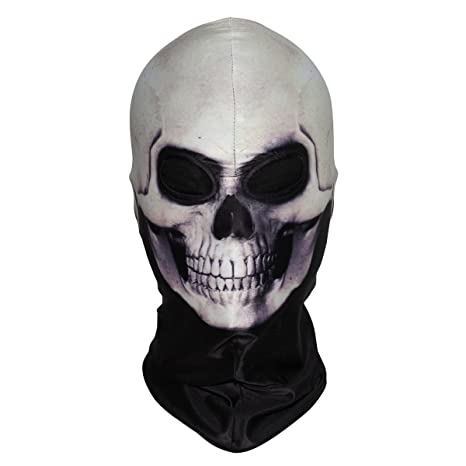 d303164b9ffe8 WTACTFUL 3D Skeleton Mask Scary Skull Balaclava Ghost Skull Cosplay Costume  Halloween Party Full Face Mask