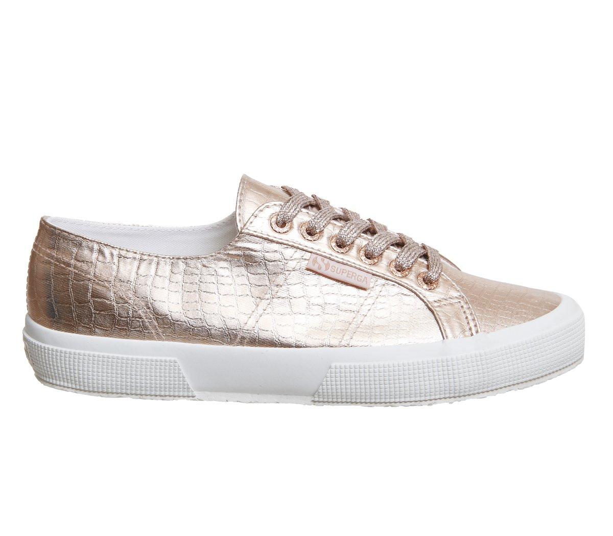 Superga - Zapatillas de deporte de algodón para hombre 37.5 EU Rose Gold