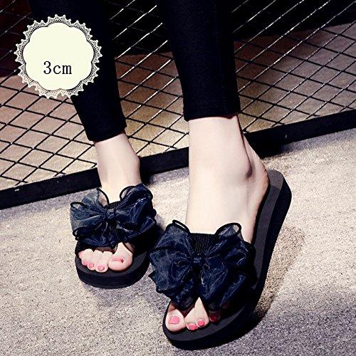 Mujeres Señoras Sandalias Zapatillas de verano femeninas Zapatillas de playa planas de 18 a 40 años Cómodo ( Color : 1004 , Tamaño : 35 ) 1002