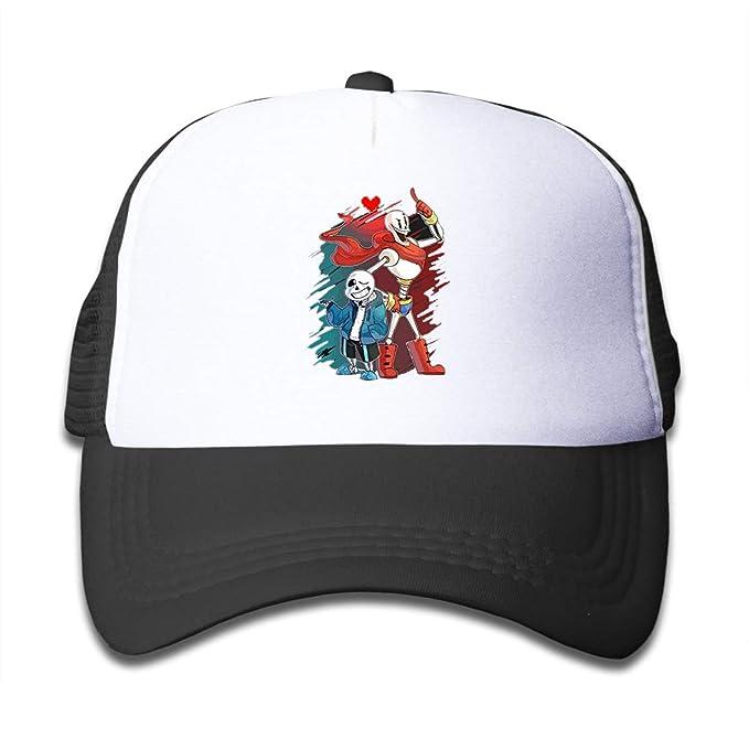 76d78eb0e Ainlgchoo! Girls Hats Undertale Sans Papyrus Funny Children's Trucker Hats