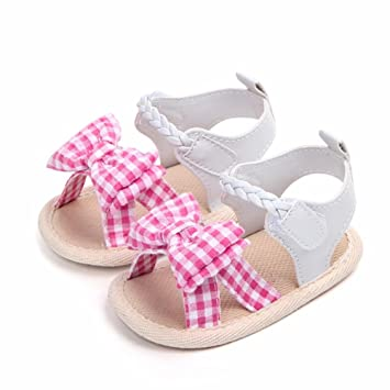 Clever Fashion Baby Shoes Soft Bottom Antiskid Toddler Kids Polka Dot Bowknot Crib Shoes First Walkers