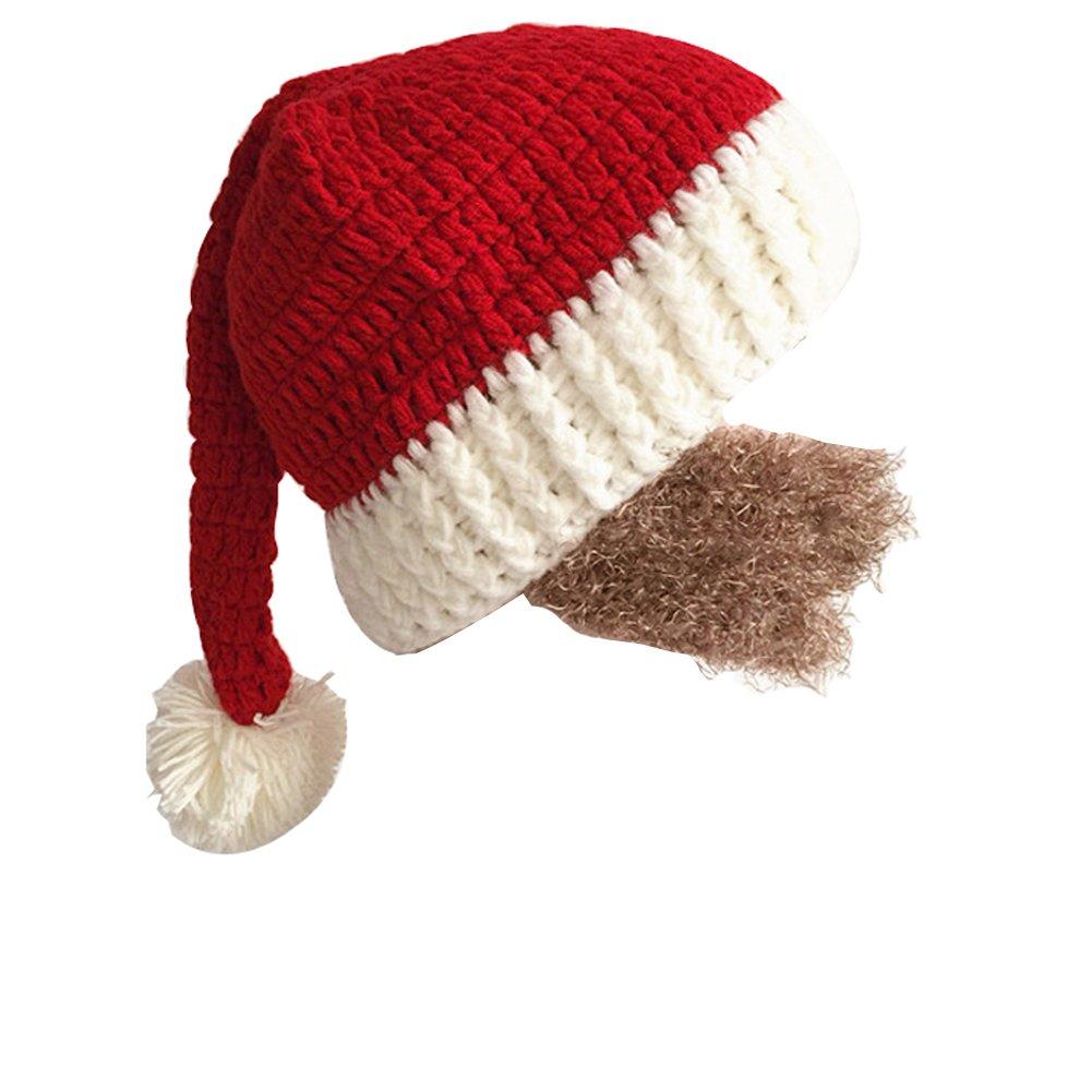 1f10f746e1f Yosang Windproof Ski Mask Warm Knitted Beanie Hat Cap Black  Amazon.ca   Clothing   Accessories