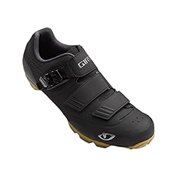 Giro Privateer R HV Shoes Black / Gum 39 & E-Tip Glove Bundle