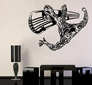 Marvel Comics Wall Vinyl Decal Silver Surfer Wall Art Superhero Vinyl Sticker Decor for Home Childroom Design Bedroom Poster mar27(29x22)