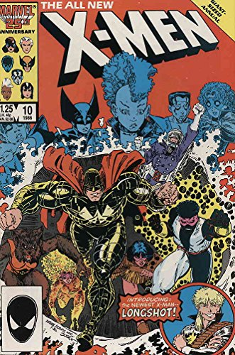 Uncanny X-Men, The #Annual 10 FN ; Marvel comic book