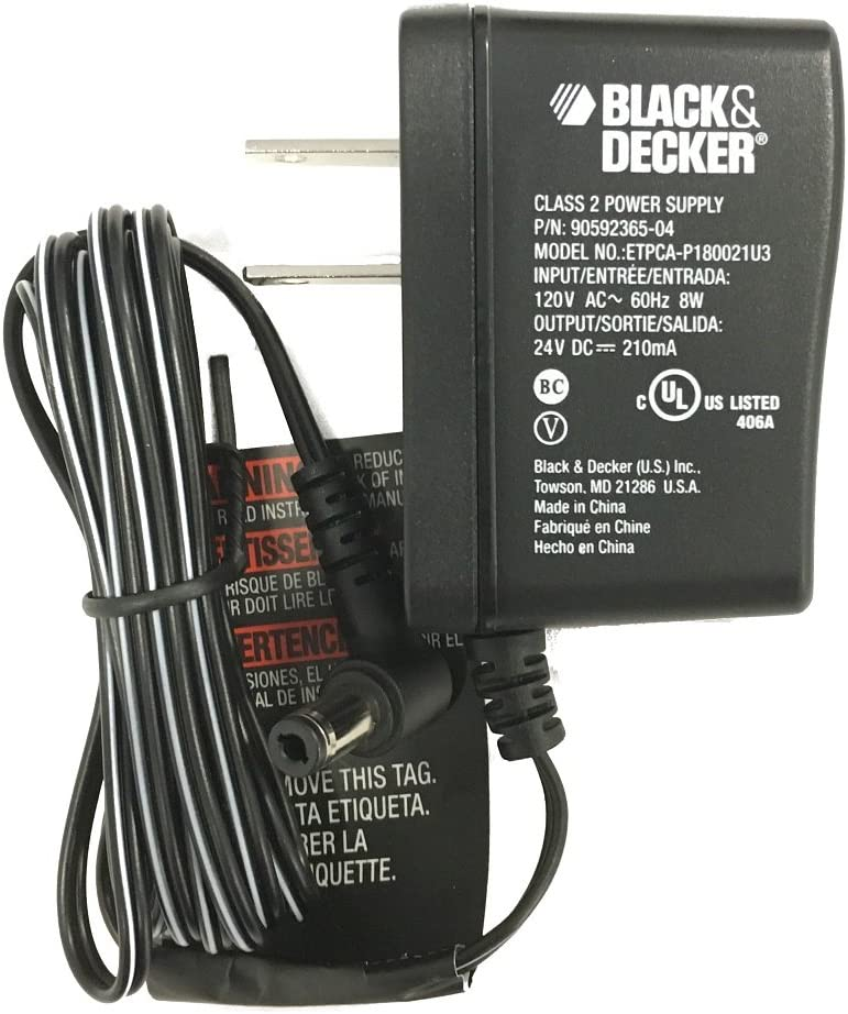 Black & Decker OEM 90592365-04 Charger CHV1410 CHV1410BFor vacuums manufactured Dec. 2, 2013 and later