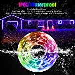 LED Strip Light, 16.4 ft Waterproof Music RGB 5050 Led Rope Lights Color Changing LED Light Strip Kit with Remote… 10