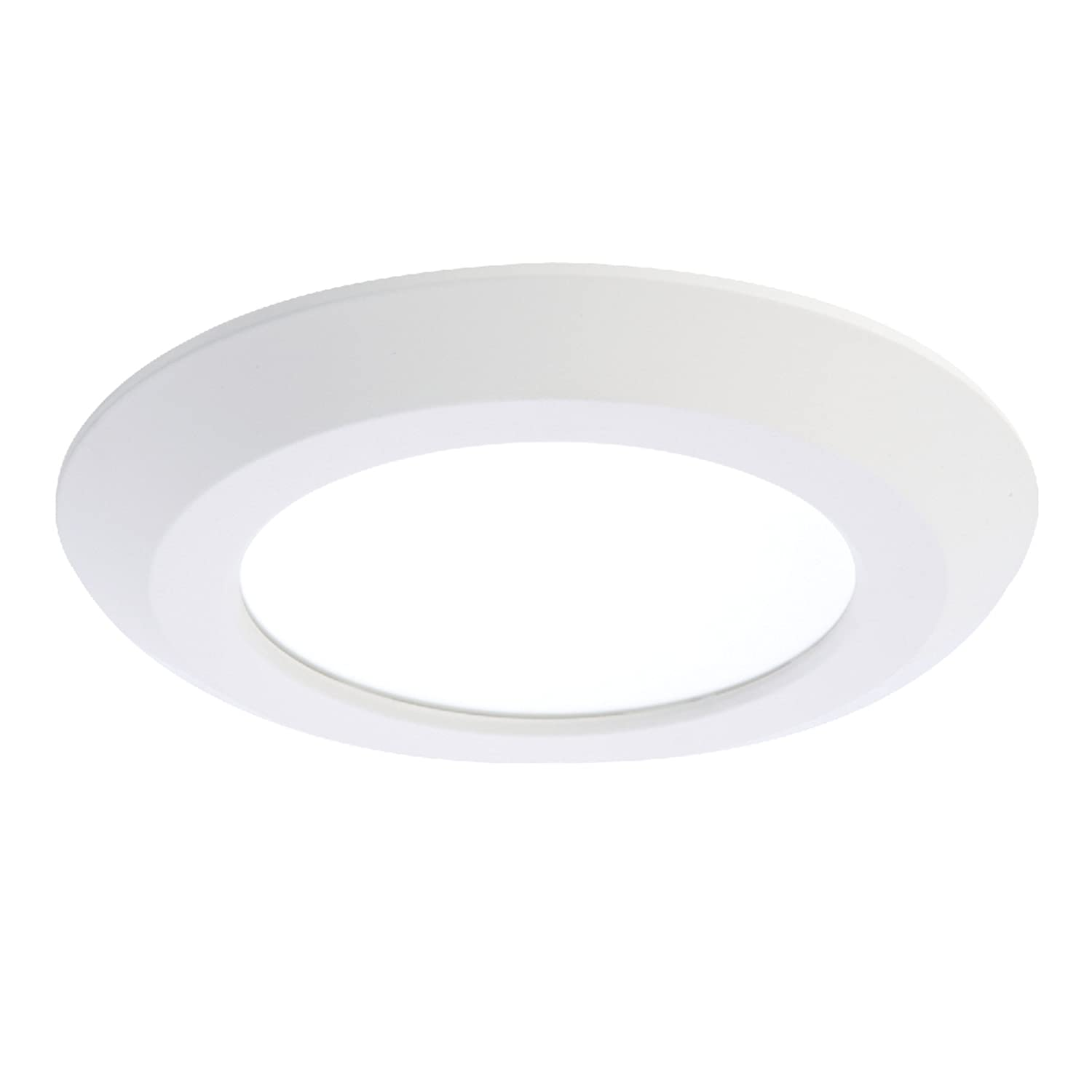 """White 4/"""" Low Voltage Slot Aperture Recessed Can Trim Works With Halo  BOX OF 24"""