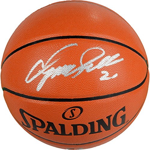 Autographed Spalding Indoor/Outdoor Basketball