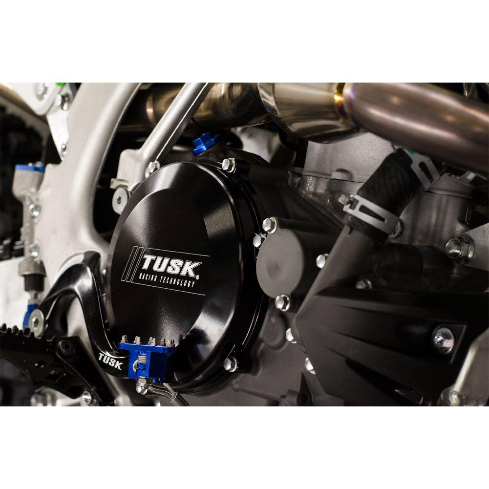 Tusk Impact Billet Clutch Cover Black - Fits: Honda CRF250R 2010-2017