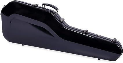 Crossrock CRF1000 - Funda rígida de fibra de vidrio para guitarra, color negro: Amazon.es: Instrumentos musicales
