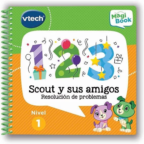 VTech- Scout y Sus Amigos Libro para Magibook, Multicolor (3480-480722)