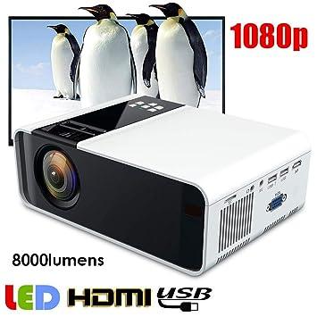Sorand Mini Proyector Multimedia Vídeo Proyector LED, 3D ...