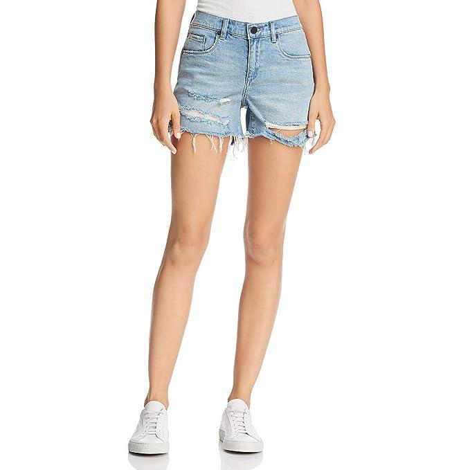 Amazon.com: BLANKNYC - Pantalones cortos para mujer, diseño ...