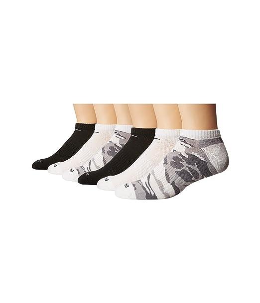 Nike Hombre 6-Pack Dri-fit rendimiento calcetines de no-show: Amazon ...