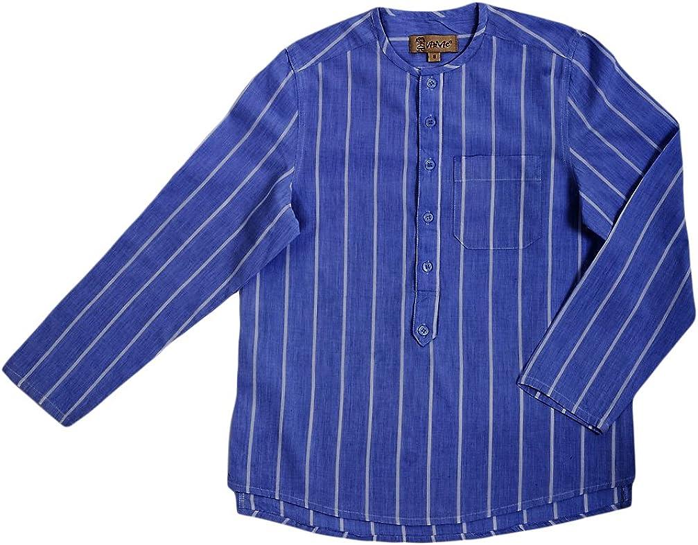 VITIVIC Michael Rayas Azules Camisa, 1 año para Niños: Amazon ...
