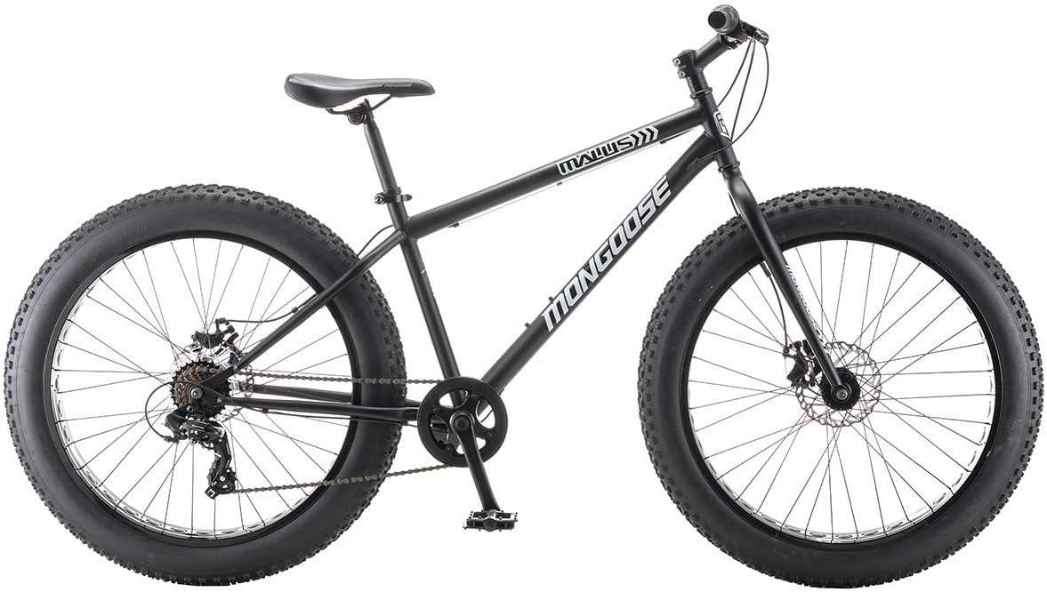 Mongoose Malus Steel Frame Fat Tire Mountain Bike