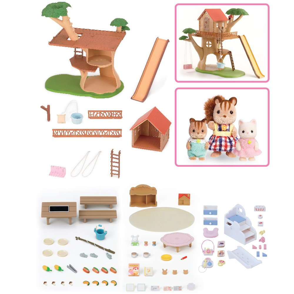 Calico Critters Adventure Treehouse Gift Set by Calico Critters (Image #3)