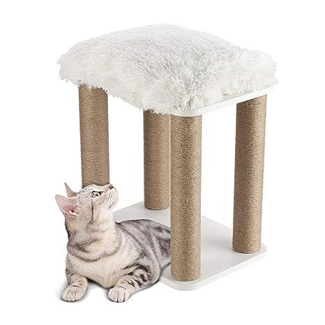 Bigbutterfly Árbol para Gato Rascador Poste para Gatos Juegos Escalada