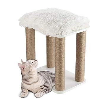 Bigbutterfly Árbol para Gato Rascador Poste para Gatos Juegos Escalada: Amazon.es: Productos para mascotas