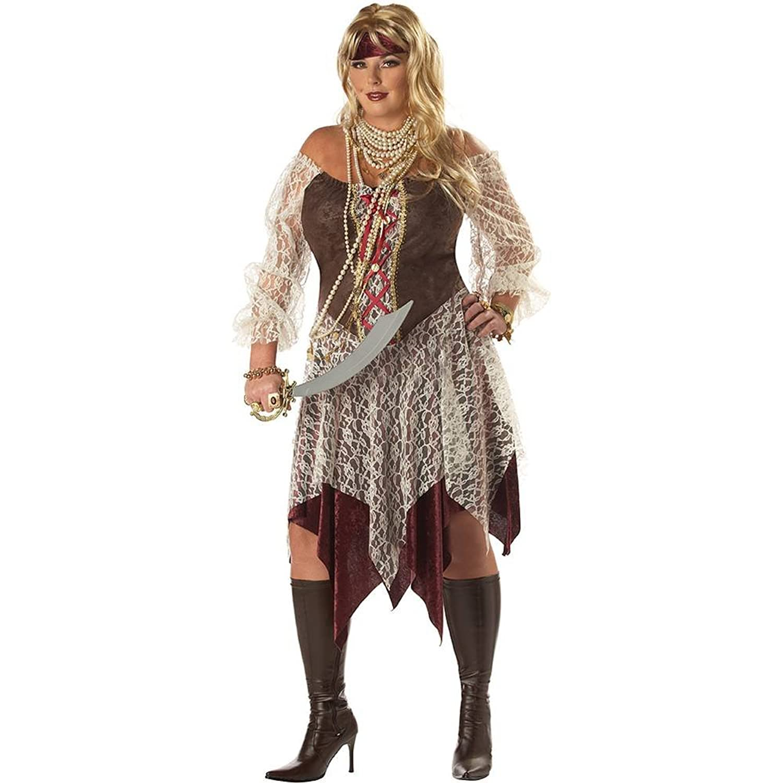 Amazon.com California Costumes Womenu0027s Plus-Size South Seas Siren Plus Clothing  sc 1 st  Amazon.com & Amazon.com: California Costumes Womenu0027s Plus-Size South Seas Siren ...