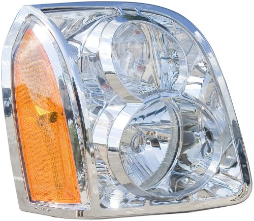 Putco 401507 Chrome Trim Head Lamp Overlay and Ring ()
