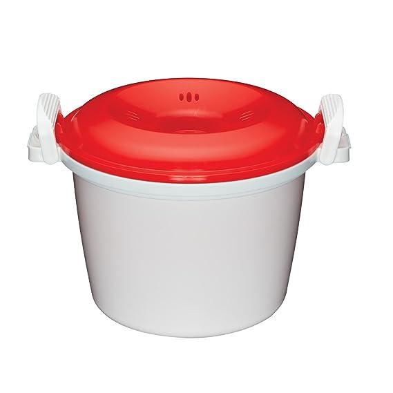 Kitchen Craft Arrocera para microondas de 1, 5 litros de Capacidad ...