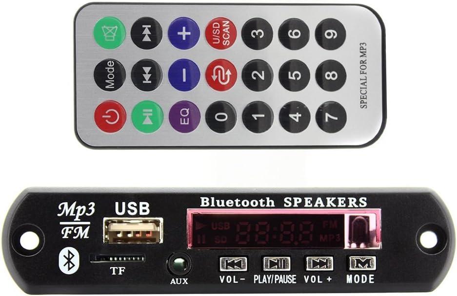 Bluetooth Mp3 Wma Fm Aux Decoder Modul Audio Tf Sd Card Elektronik