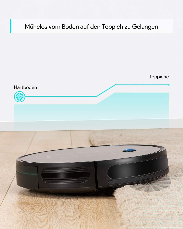 Robot aspirateur Deenkee Enorm fin avec faible bruit, 1500