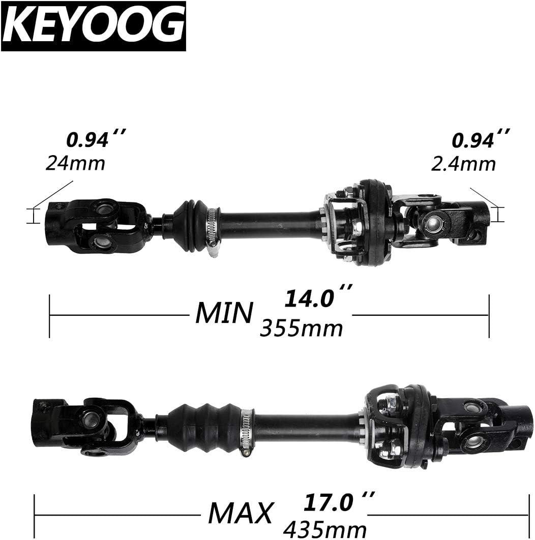 KEYOOG Lower Intermediate Steering Shaft Column for 2001 2002 2003 2004 Dodge Dakota Fits RWD Models Only 425-269 55351244AA