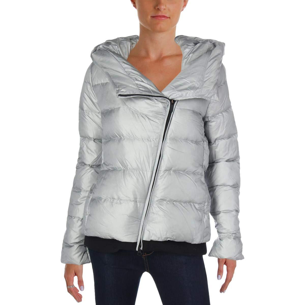 Nike Womens Winter Down Puffer Coat Gray M by Nike