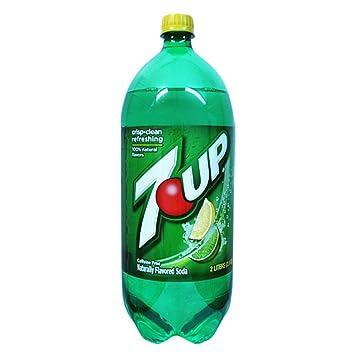 amazon com 7 up soda 2 liter bottle pack of 6 soda soft