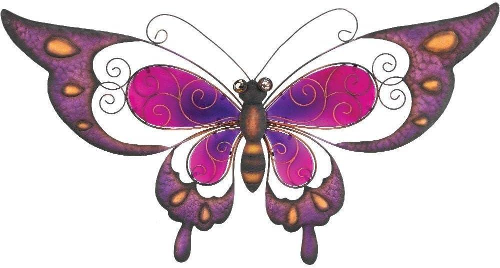 Regal Art & Gift Butterfly Wall Decor, 29-Inch, Purple