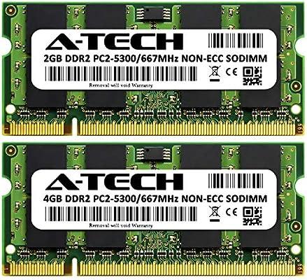8GB 2x4GB PC2-5300 DDR2 SODIMM Memory Apple MacBook Upgrade