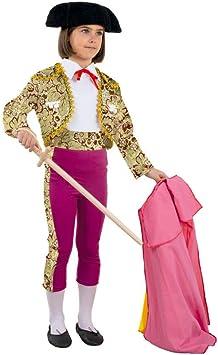 DISBACANAL Disfraz Torera niña - -, 4 años: Amazon.es: Juguetes y juegos