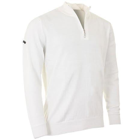 Amazoncom Callaway Golf Mens Merino Wool 14 Zip Sweater Us Xxl