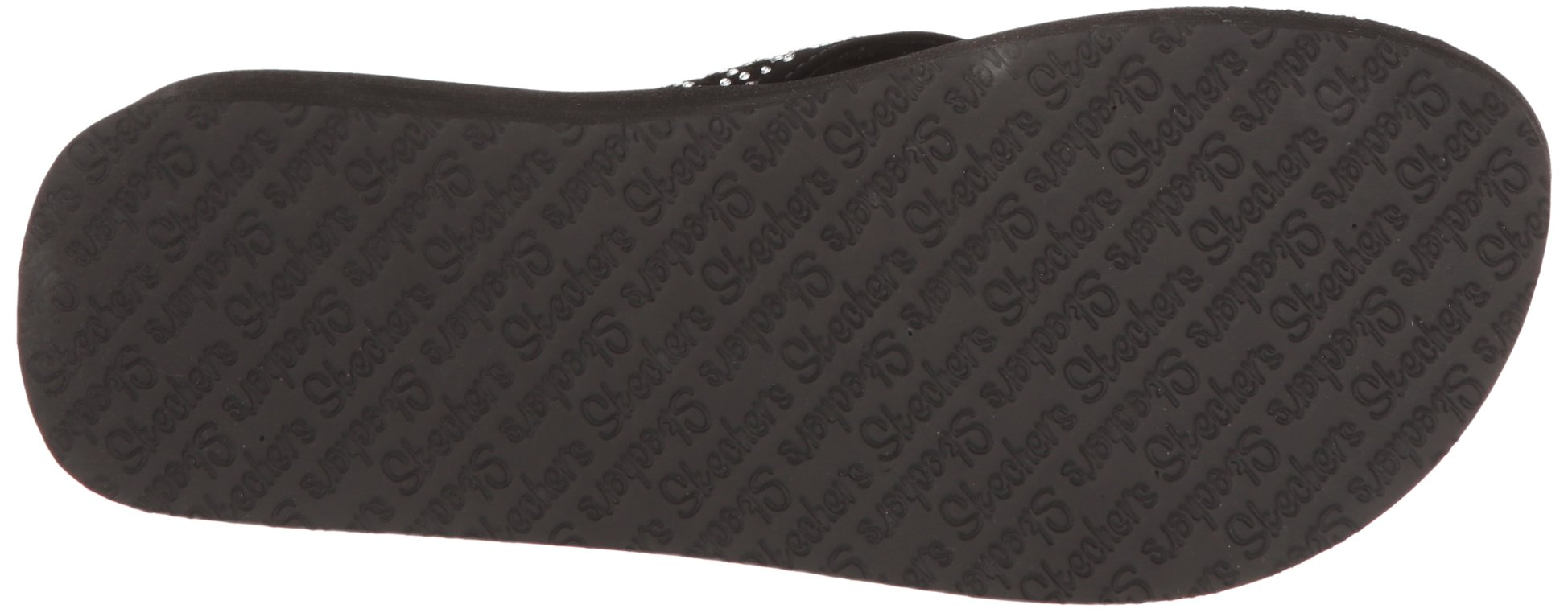 Skechers Cali Women's Vinyasa Flow Wedge Sandal, Black Cutout, 6 B(M) US by Skechers (Image #3)
