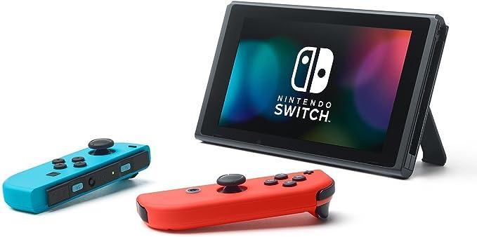 Nintendo Switch - Consola color Azul Neón/Rojo Neón + Doom: Amazon ...