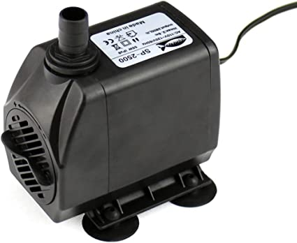 AQUANEAT 80-1450 GPH Submersible Water Pump Adjustable Powerhead Aquarium Fish Tank Fountain Hydroponic