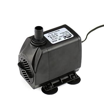 amazon com 740 gph submersible pump aquarium fish tank powerhead