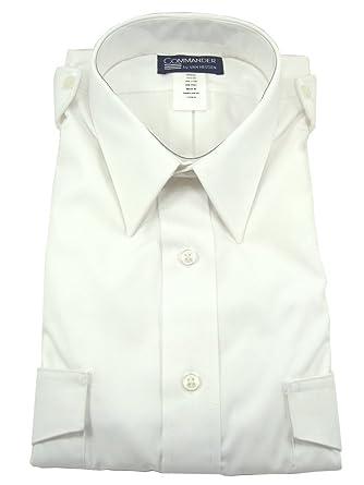 1342075a930 Image Unavailable. Image not available for. Color  Van Heusen Men s  Commander Tall Pilot Shirt
