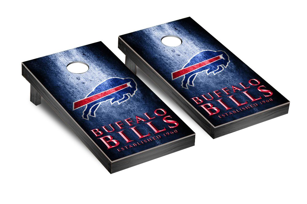 NFL Buffalo Bills Museum Version Football Corn hole Game Set, One Size