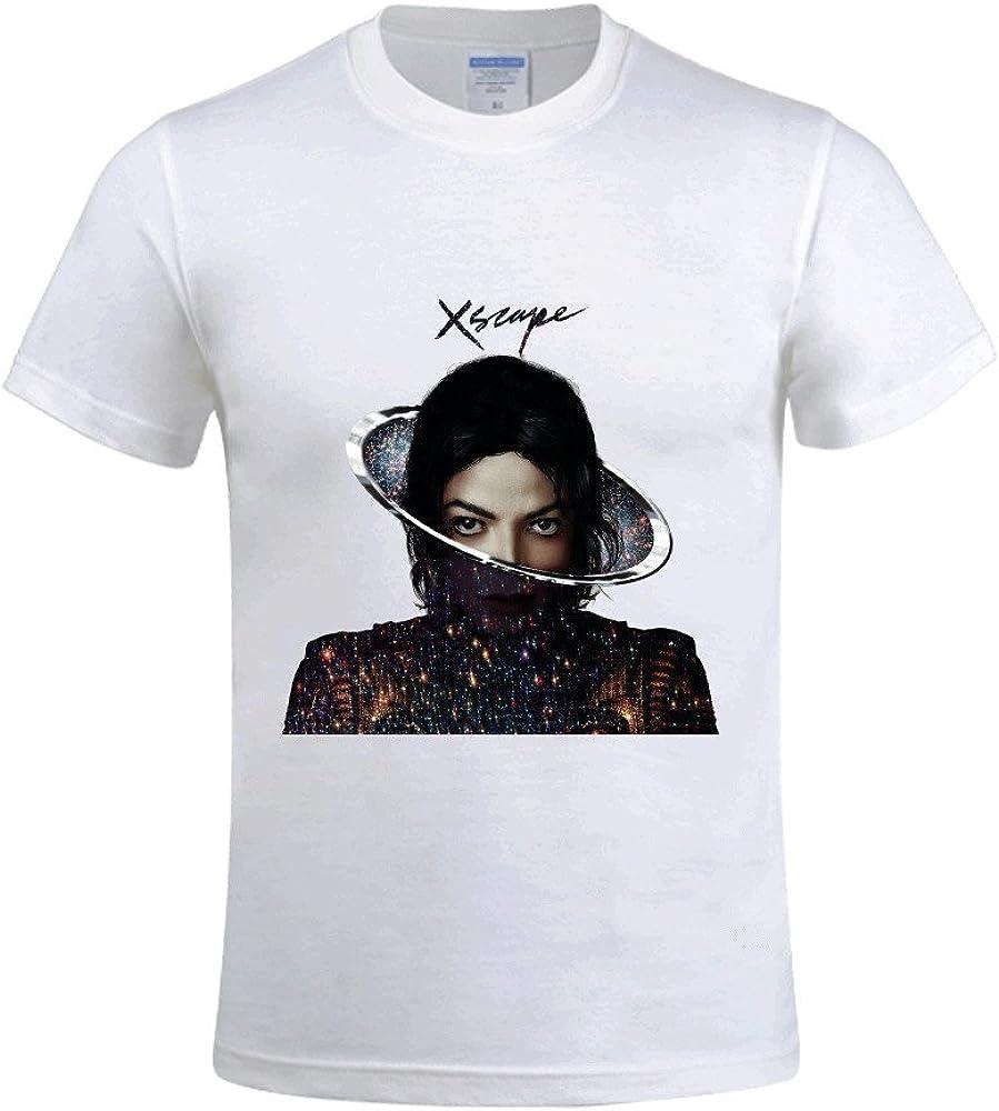 Michael Jackson Xscape búho – Camiseta de manga corta para hombre: Amazon.es: Ropa y accesorios