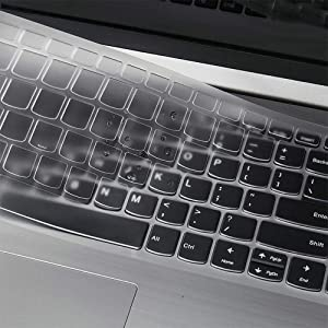 "Ultra Thin Keyboard Cover for Lenovo Yoga C940 C740 15.6, Lenovo IdeaPad 320 330 330s 340s 520 720s 130 S145 L340 S340 15.6""/Lenovo IdeaPad 320 330 17.3""/Lenovo V330 V130 15.6"" Keyboard Cover"