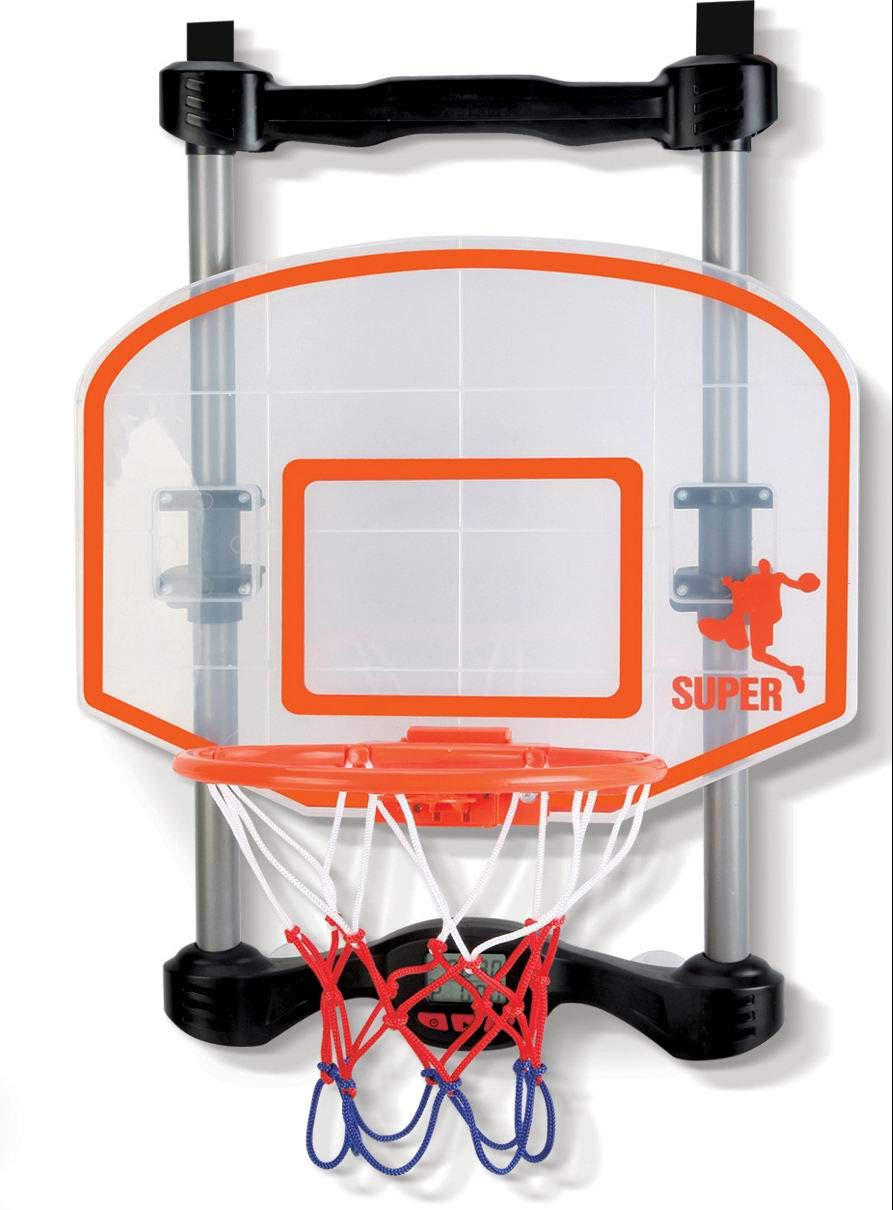 NSG Over The Door Basketball Hoop with Shot Clock, Electronic Scoring and Sound by NSG