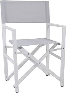 Sedia Da Regista Alluminio Robuste.Sedia Regista Top Alluminio Mare Campeggio Richiudibile Amazon It