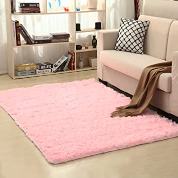 Amazon.com : PAGISOFE Soft Girls Room Rug Baby Nursery Decor Kids ...