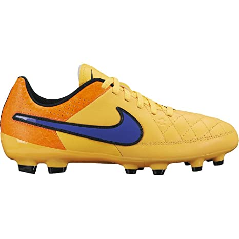 low priced a4244 bd158 Nike Jr Tiempo Genio Leather Fg – Lsr Orng PRSN VLT della Ttl Orng VLT