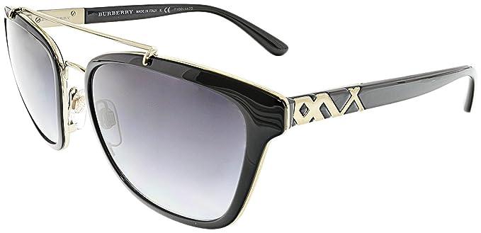Burberry 0Be4240 30018G 56, Gafas de Sol para Mujer, Negro ...